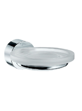 Hansgrohe 41533820 Axor Uno Soap Dish - Brushed Nickel (Pictured in Chrome)