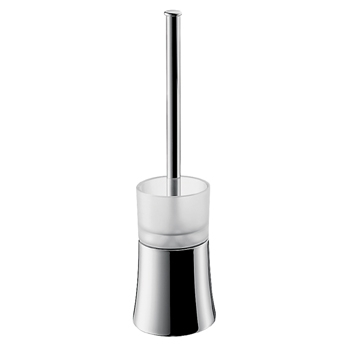 Hansgrohe 41536820 Axor Citterio Toilet Brush with Holder Floor Version - Brushed Nickel (Pictured in Chrome)