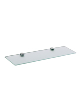 Hansgrohe 41550000 Axor Citterio Glass Shelf - Chrome