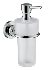 Hansgrohe 41719820 Axor Citterio Soap/Lotion Dispenser - Brushed Nickel (Pictured in Chrome)
