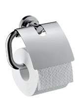 Hansgrohe 41738820 Axor Citterio Toilet Paper Holder with Cover - Brushed Nickel (Pictured in Chrome)