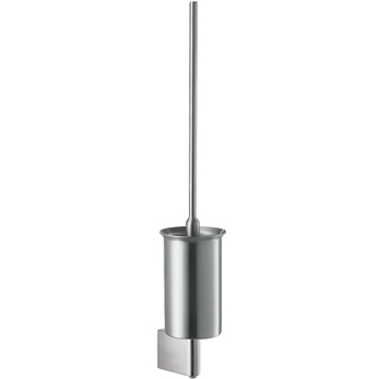 Hansgrohe 41835800 Axor Steel Toilet Brush w/Holder - Steel