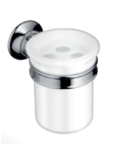 Hansgrohe 42034820 Axor Montreux Toothbrush Holder - Brushed Nickel (Pictured in Chrome)