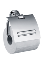 Hansgrohe 42036820 Axor Montreux Toilet Paper Holder with Cover - Brushed Nickel (Pictured in Chrome)