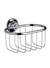 Hansgrohe 42065830 Axor Montreux Wall Mounted Soap Basket - Polished Nickel (Pictured in Chrome)