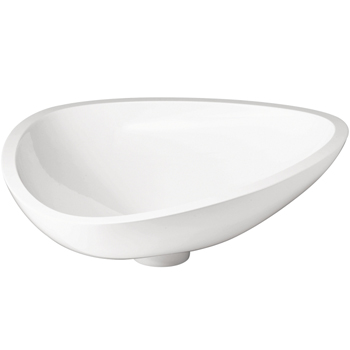 Hansgrohe 42305000 Axor Massaud Small Vessel Sink - White