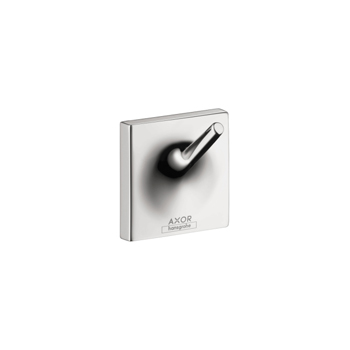 Hansgrohe 42737000 Axor Starck Organic Face Cloth Hook - Chrome