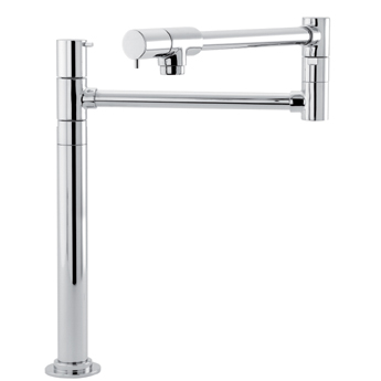 Hansgrohe 04058860 Talis S Deck-Mounted Pot Filler - Steel Optik (Pictured in Chrome)