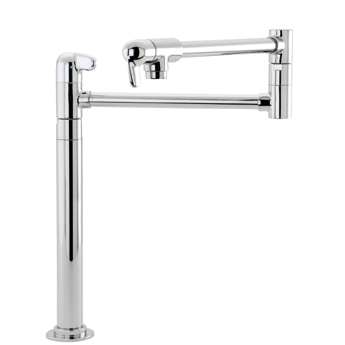 Hansgrohe 04060860 Allegro E Deck-Mounted Pot Filler - Steel Optik (Pictured in Chrome)