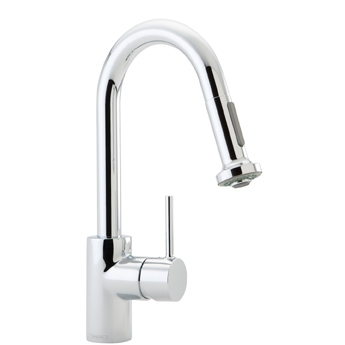 Hansgrohe 04065000 Talis S Single Handle Pull-Down Kitchen Faucet Chrome