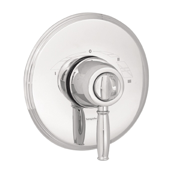 Hansgrohe 06067920 Tango C Single Handle ThermoBalance III Tub/Shower Valve Trim Rubbed Bronze (Pictured in Chrome)