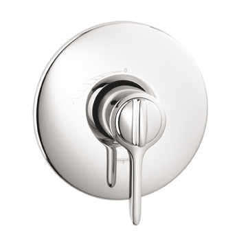 Hansgrohe 04152000 Allegro E Single Handle ThermoBalance I Tub/Shower Valve Trim Chrome