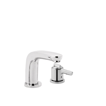 Hansgrohe 04139820 Allegro E Single Handle Thermostatic Roman Tub Faucet Trim Brushed Nickel (Pictured in Chrome)