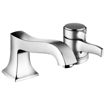 Hansgrohe 04141000 Metris C Single Handle Thermostatic Roman Tub Faucet Trim Chrome