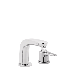 Hansgrohe 04140820 Metro E Trim 2-Hole Thermostatic Tub Filler - Brushed Nickel (Pictured in Chrome)