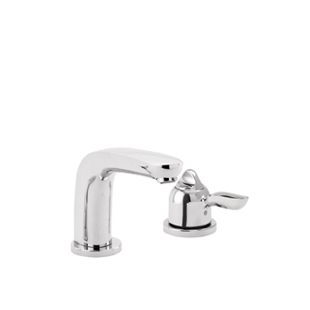 Hansgrohe 04138820 Solaris E Single Handle Thermostatic Roman Tub Faucet Trim Brushed Nickel (Pictured in Chrome)