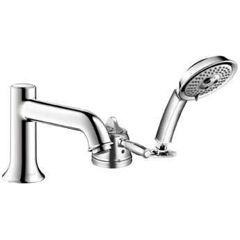 Hansgrohe 04133920 Talis C Trim 3-Hole Thermostatic Tub Filler With Handshower - Oil Rubbed Bronze (Pictured in Chrome)