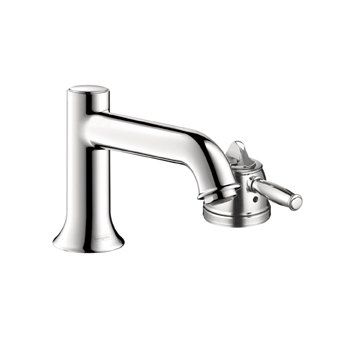 Hansgrohe 04142820 Talis C Single Handle Thermostatic Roman Tub Faucet Trim Brushed Nickel (Pictured in Chrome)