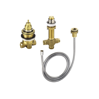 Hansgrohe 04124181 3-Hole Thermostatic Rough-In Valve