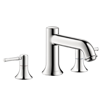Hansgrohe 14113821 Talis C Two Handle Widespread Lavatory Faucet Brushed Nickel (Pictured in Chrome)