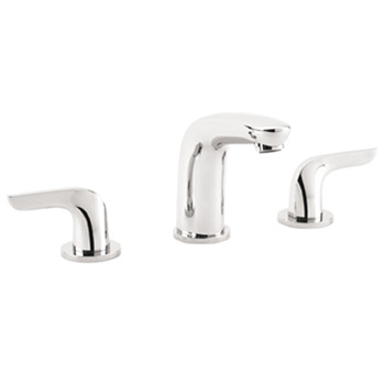 Hansgrohe 04195820 Metro E Two Handle Widespread Lavatory Faucet Brushed Nickel (Pictured in Chrome)