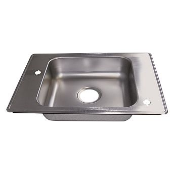 Haws 4210 Barrier Free Deck Mounted Sink - Stainless Steel