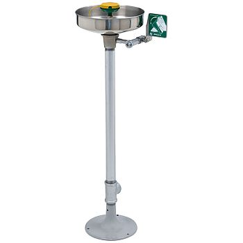 Haws 7361-7461 AXION MSR Pedestal Mount Eye/Face Wash - Stainless Steel