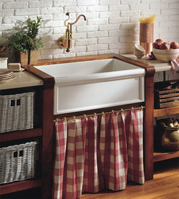Herbeau 4603-20 Luberon Fireclay Farm House Kitchen Sink - White