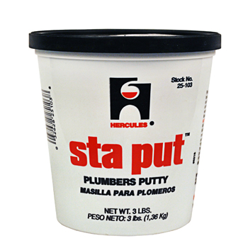 Oatey Hercules 25103 3 lb Sta Put Putty