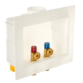 IPS 82052 Washer Dual Drain Outlet Box