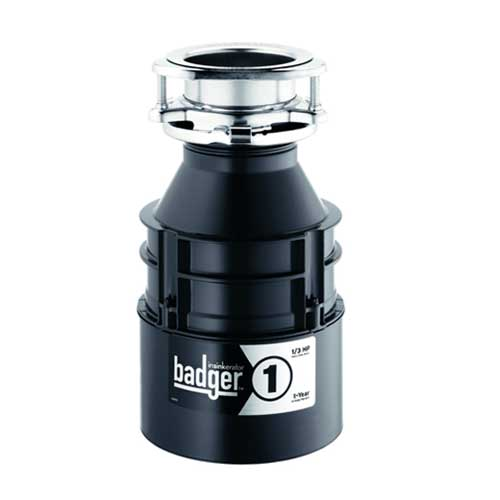 InSinkErator Badger 1, 1/3 HP Garbage Disposal