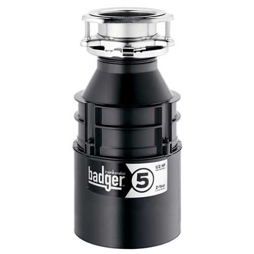 InSinkErator Badger 5, 1/2 HP Garbage Disposal