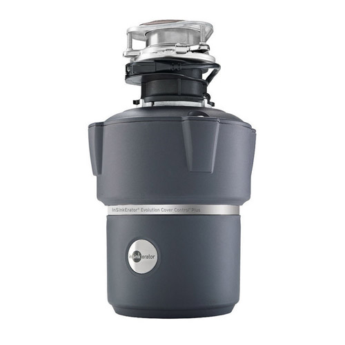 InSinkErator Evolution Cover Control Plus 3/4 HP Garbage Disposal