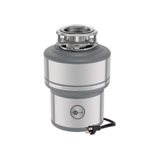 InSinkErator Evolution Excel Garbage Disposal - With Cord