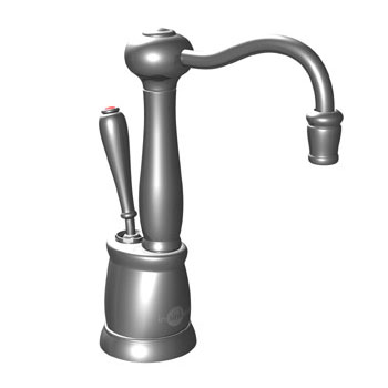 InSinkErator F-GN2200BC Victorian Series Hot Water Dispenser, Faucet Only - Brushed Chrome