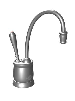 InSinkErator F-GN2215BC Country Series Hot Water Dispenser, Faucet Only - Brushed Chrome