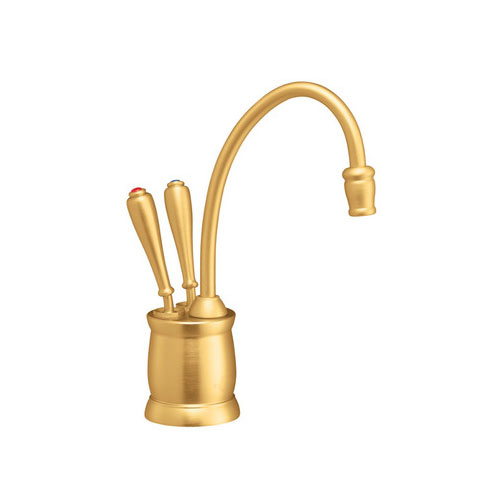 InSinkErator F-HC2215BB Indulge Tuscan Hot and Cool Water Dispenser, Faucet Only - Brushed Bronze