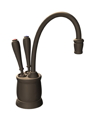 InSinkErator F-HC2215MB Country Series Hot and Cool Water Dispenser, Faucet Only - Mocha Bronze