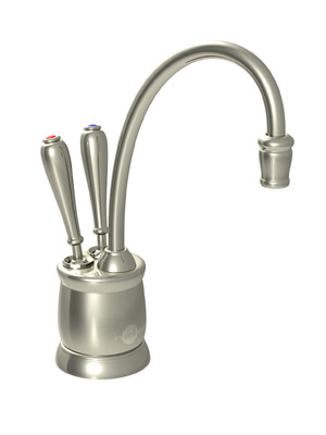 InSinkErator F-HC2215PN Country Series Hot and Cool Water Dispenser, Faucet Only - Polished Nickel