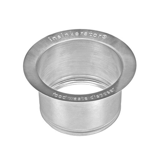InSinkErator FLG-SSLG Deep Stainless Steel Sink Flange - Polished Stainless Steel