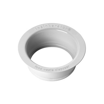 InSinkErator FLG-WH Replacement Sink Flange - White