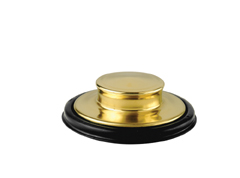 InSinkErator STP-PB Stopper - Polished Brass