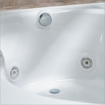 Jacuzzi� DA34-827 Rotary Drain Kit - Chrome