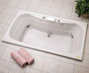 Jacuzzi� EA90-959 Signa� 6' Pure Air� II Bath Tub - White