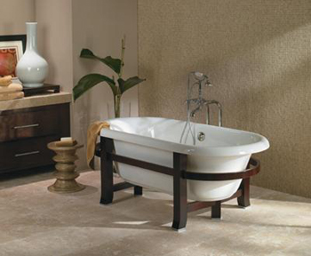 Jacuzzi� EU95-959 Era 6636 Freestanding Double-Ended Tub - White