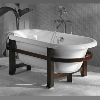 Jacuzzi� EV11-000 Wood Frame with Legs for 66