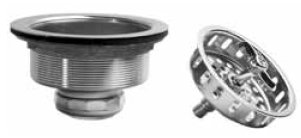 JB Products JB1133LBL Spin & Lock Stainless Steel Strainer