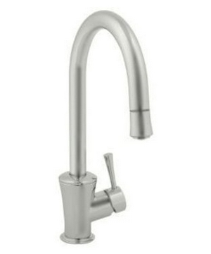 Jado 803/800/355 Basil Single Handle Kitchen Faucet - Ultra Steel