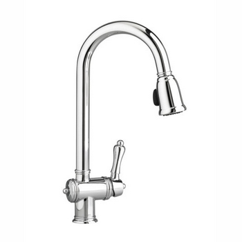 Jado 850/840/100 Victorian Single Handle Pull Down Kithen Faucet - Chrome