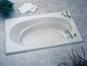 Jacuzzi� 4481-959 Nova 5 Soaking Bath 5'- White